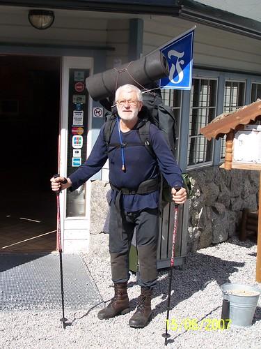 Avreise fra Ljosland Fjellstove