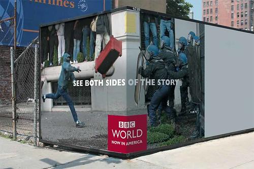 bbc las dos caras de la noticia