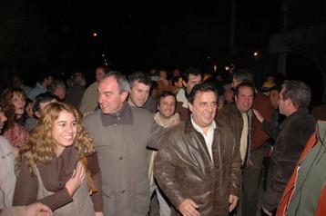 Sergio Cóser junto a mario Negri