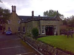 Exterior of the Stair Arms Hotel and Restaurant just outside of Edinburgh