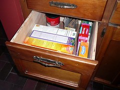 new drawer in place