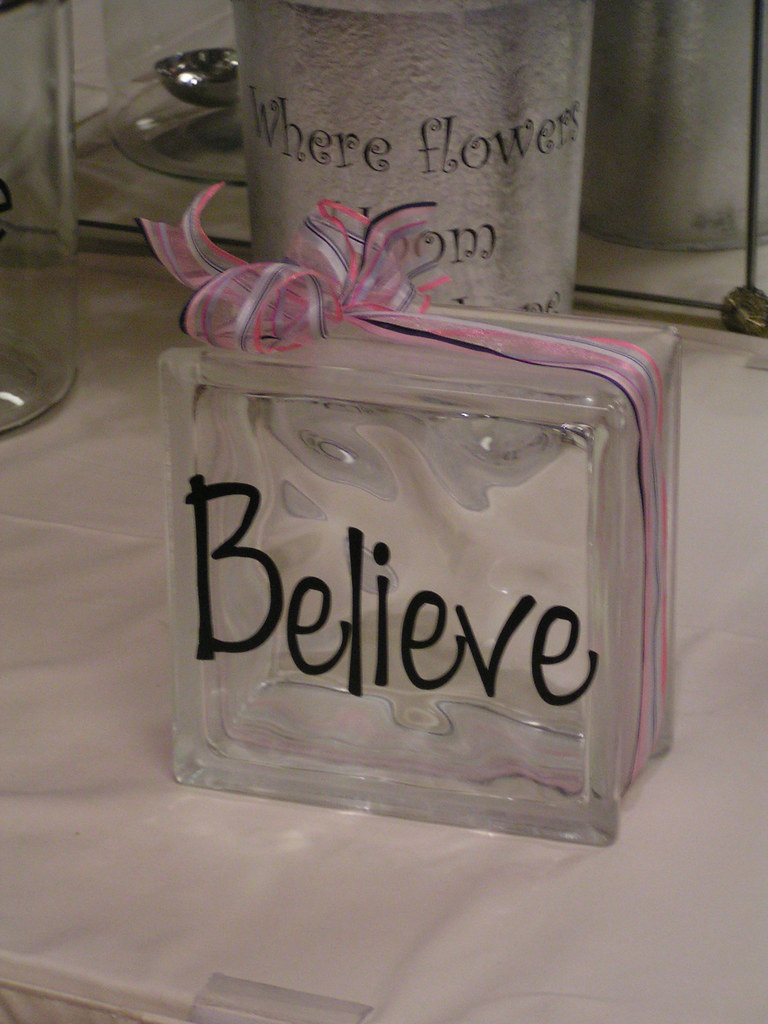 these custom glass blocks are a great gift for everyone to love