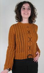 Wicker front (firetweed) Tags: knitting wicker rowanallseasonscotton