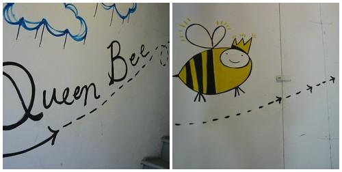 the Queen Bee studio in Portland