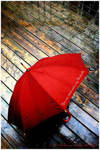 (-- You can stand under my Umbrella --)