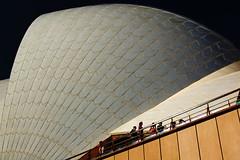 world's biggest bathroom (mugley) Tags: city people urban architecture nikon d70 sydney australia tiles nsw sail newsouthwales sydneyoperahouse jørnutzon cliché polariser 1855mmf3556gii