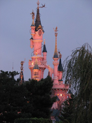 Sunset on the Castle