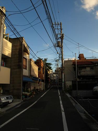 Sakamachi uphill slope