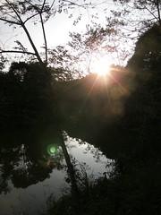 78.夕陽灑在向天湖上