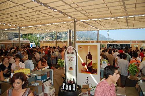 Imagen de anterior celebración de la Cata de Vino Montilla Moriles
