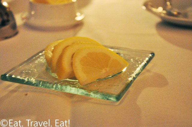 Lemons on a Plate