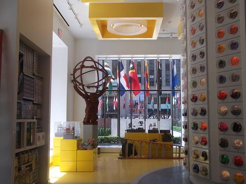 Lego Store in Rockefeller Center