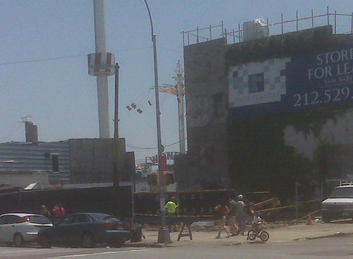 Demolition in Progress: Surf Ave & 12th Street, Coney Island.  June 18, 2010