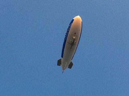 Zeppelin overhead