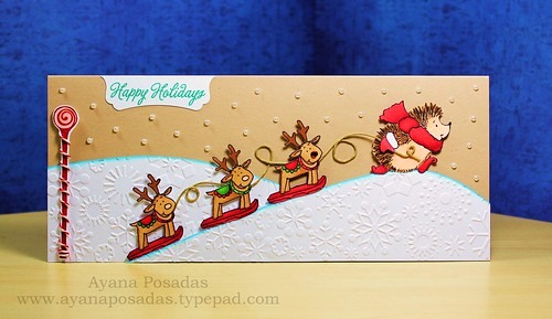 Penny Black Reindeer Card (3)