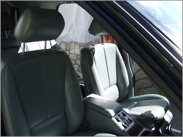 Mercedes ML detallado interior-35