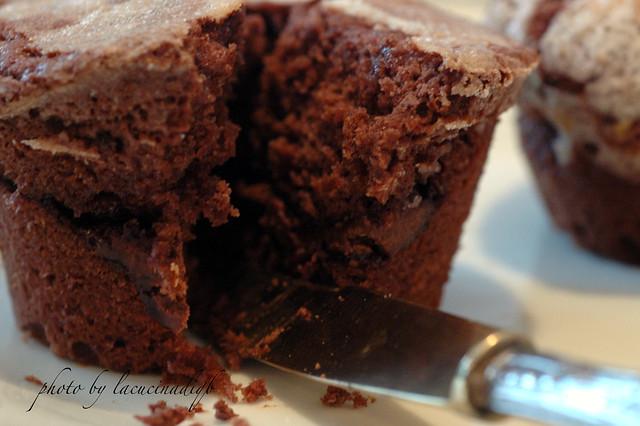 Tortino di cioccolato con cuore fondente di Sassonero