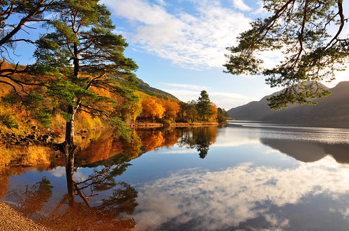 Autumn Reflections on Loch Eck 1