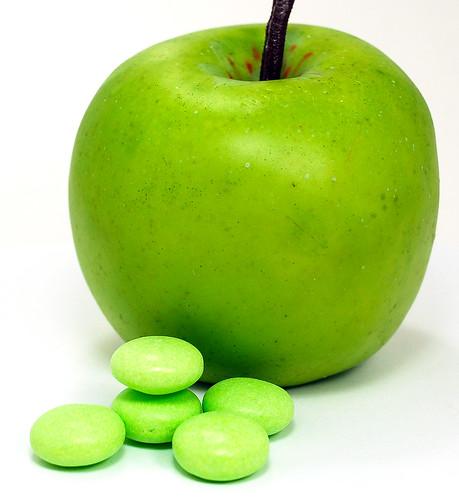 Mentos Green Apple Mints