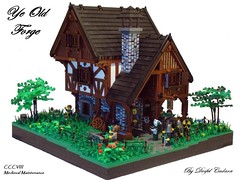 Ye Old Forge (- Derfel Cadarn -) Tags: castle lego blacksmith forge