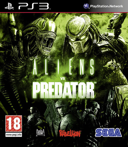 Aliens Vs Predator PS3-DUPLEX