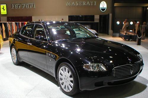 2004 Maserati Quattroporte. Maserati quattroporte (series