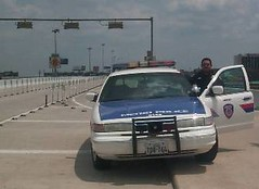 PD in HOV (houstontranstar) Tags: metropolice hovlane