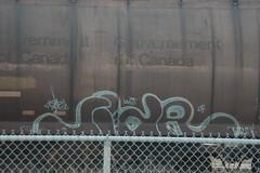 Siar (A & P Bench) Tags: railroad urban art train bench graffiti pacific grafiti stock rail railway canadian graff 54 railfan freight rolling uws fr8 benching