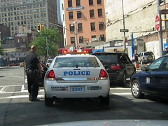 NYPD Car Stop 1 (buff_wannabe) Tags: nyc car cops over police nypd stop cop policecar pulled