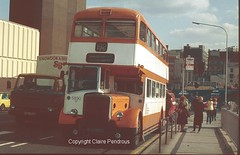 GMPTE 5890 at Stockport in September 1980 (Lady Wulfrun) Tags: bus buses manchester transport pd front passengers east corporation stockport greater 1980 radiator loading leyland lancs gmpte pte selnec engined pd3