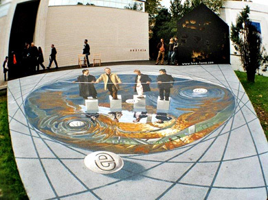 amazing painted illusion
