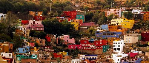Casas de Colores in Guanajuato. Photo by Conejoazul.