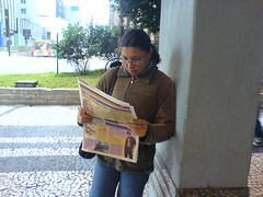 Primeira leitura na primeira hora do dia.