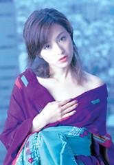 酒井法子,日本和服look