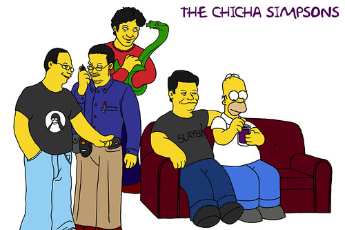 Chicha- Simpsons