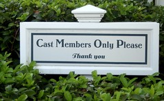 Cast Members Only
