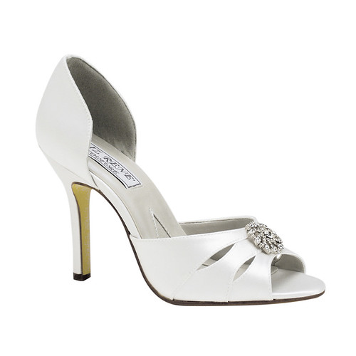 women ivory bridal shoes, women ivory wedding shoes