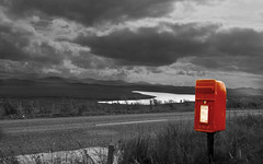 Lochganvich (the44mantis) Tags: mountain scotland post lewis escocia explore postbox schottland schotland ecosse outerhebrides scozia anawesomeshot diamondclassphotographer betterthangood theperfectphotographer hs252