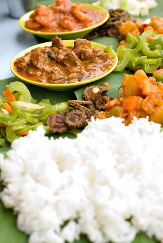 Banana Leaf Rice at Kanna