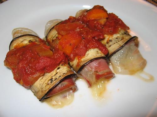 Involtini di Melanzane (Eggplant Rolls)