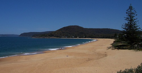 Pearl Beach, Pittwater in background