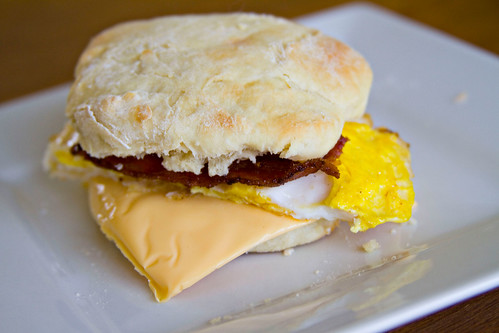 Breakfast Sandwich Biscuits - 9