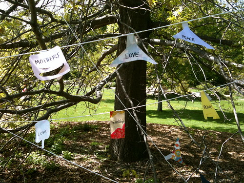 2010 Mother's Day Peace Flags