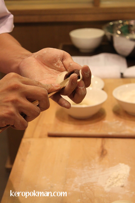 Wrapping the Din Tai Fung Xiao Long Bao