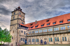 Lemgo Schloss Brake west (blavandmaster) Tags: architecture brake schloss ostwestfalen weserrenaissance lippe lemgo