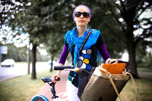 Warszawa Rowerowa - Warsaw Cyclists - Kasia