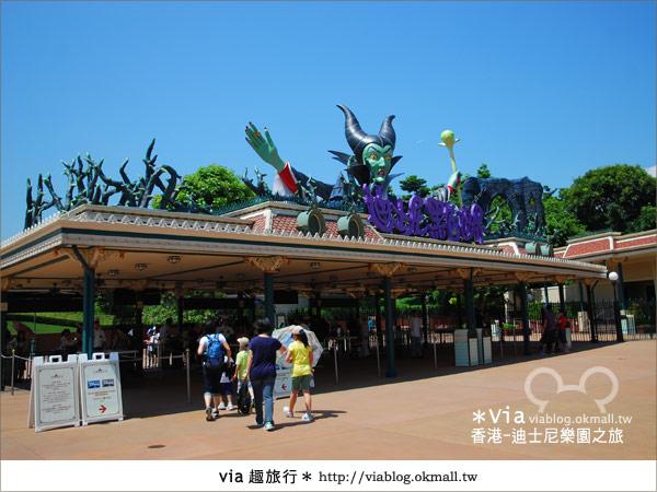 【香港自由行】跟著via玩香港(1)~爆走香港迪士尼樂園9