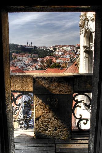 Balcony. Prague. Balcón. Praga