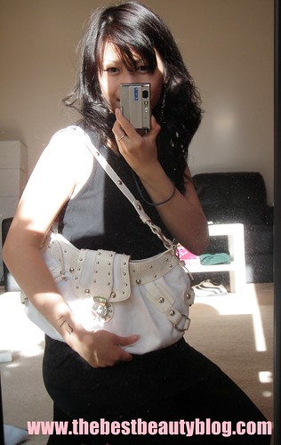 handbags, expensive, studs, white leather