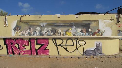 Graffiti in Tel Aviv